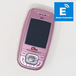 VK VK4000 - Flip Mobile Phone - Pink - Unlocked - Grade A - Fast P&P