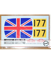 1/24 TAMIYA MINI COOPER 1275S UNION JACK DECAL