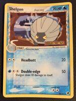 NM Shelgon 38/101 Reverse HOLO EX Dragon Frontiers Delta Species Pokemon Card