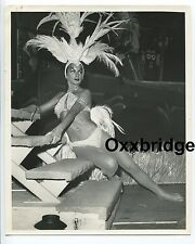 LAS VEGAS SHOWGIRL 1970 Burlesque MOULIN ROUGE Dancer Go Hollywood Glam Glitter