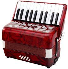 31496 Classic cantabile Secondo Acordeon para Niños 8 bajos rojo