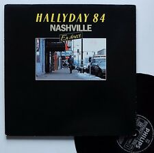 "LP Johnny Hallyday  ""Nashville 84 en direct"""