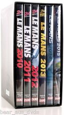 LE MANS  2010-2015 - 24 Hour - 6 Years  Review Sportscar Collection - NEW DVD UK