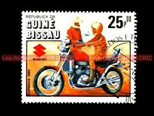 SUZUKI GV 700 Madura 1985 - Guiné BISSAU - Guinée BISSAO Moto Timbre Stamp