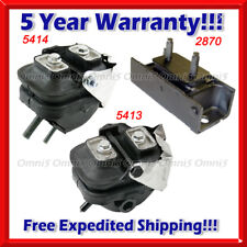 M429 Fits 2003-04 Ford Expedition 4.6L 5.4L 4WD, Front L & R Motor & Trans Mount