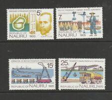 Nauru 1975 Phosphate Industry UM/MNH SG 129/132