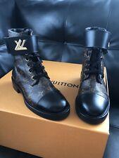 Beautiful Authentic Monogram Louis Vuitton Wonderland Ranger Boots - Size 37