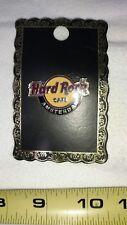 Hard Rock Cafe *AMSTERDAM, HOLLAND*  RED HRC CLASSIC LOGO PIN 3LC  2 TACKS