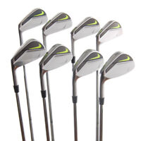 New Nike Vapor Pro Forged Iron Set 3-PW DG S300 AMT Stiff LEFT HANDED