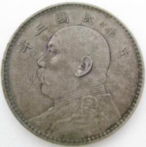 China Republic 1914 yr 3 Fatman Dollar  VF-XF   #78