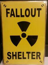 Fallout Shelter Vintage Retro Metal Sign Plaque Home Decor Room Pub Workshop