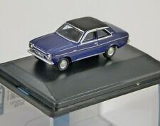 FORD ESCORT MK1 in Purple Velvet - 1/76 scale model OXFORD DIECAST
