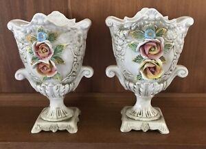 Kitsch Italian Vases Pair