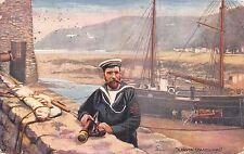CARTOLINA NAVI Un Devon Guardia costiera TUCK
