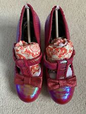 Irregular Choice Pink Lazy River Shoes Size 38/5