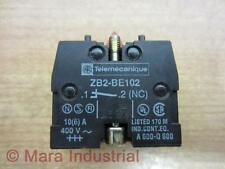 Telemecanique ZB2-BE102 Contact Block ZB2BE102 24968