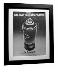 ALAN PARSONS PROJECT+Best+POSTER+AD+RARE ORIGINAL 1983+FRAMED+FAST GLOBAL SHIP