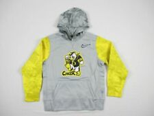 NEW Nike Oregon Ducks - Youth's Gray/Yellow Sweatshirt (M)