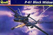 Revell 1/48 P-61 Black Widow  Plastic Model Kit 85-7546 WWII P61