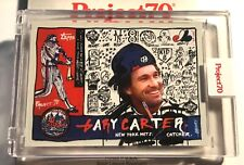Topps Project 70 Gregory Siff GARY CARTER New York Mets Expos Topps Art Card 95