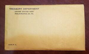 1956 US Mint Proof Set **Rare** UNOPENED UNSEARCHED Original Envelope