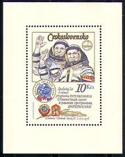 Czechoslovakia 1979 Space Flight/Astronauts m/s n29263