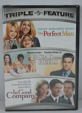The Perfect Man/Head Over Heels/In Good Company (DVD, 2007, 2-Disc Set) SEALED