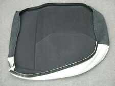 Saab 900 black cloth left rear seat bottom cover