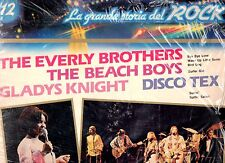 EVERLY BROTHERS BEACH BOYS GLADYS KNIGHT TEX disco LP 33 GRANDE STORIA ROCK 12