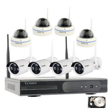 8CH HD 720P IP Camera Kit completi Wireless videosorveglianza Telecamere 3TB HDD