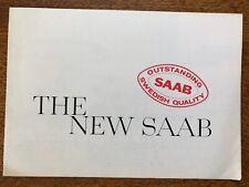 SAAB 96 UK Market Sales Brochure, 1964