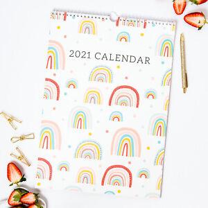 The Organised 2021 Wall Calendar