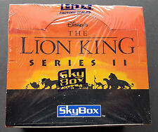 Disneys The Lion King Series II trading card box 36 packs sealed OVP