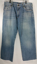 Chip & Pepper Mens 38x28.5 Malibu Beach Jeans Relaxed Fit Medium Wash Zip Fly