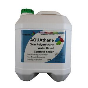 AQUAthane Pure Polyurethane Waberborne Concrete Tile Floor WINTER Ideal Sealer