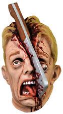 Morris Costumes Men's Latex Cleave Horrifying Full Head Mask One Size. MABF109