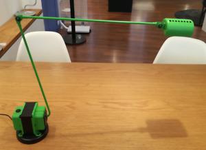 Lumina - Tischleuchte Daphine LED grün