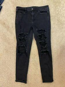 Ae American Eagle Hi Rise Jegging Skinny Denim women jeans size 14