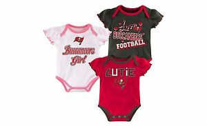 Tampa Bay Buccaneers Girls Infant Bodysuit Onesie Baby Romper Gerber Creeper