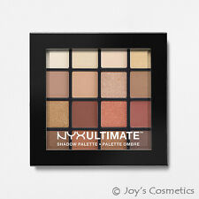 NYX Ultimate 16 Eyeshadow Palette USP03 Warm Neutrals - UK 1st Class Post