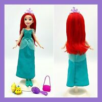 Disney Princess Ariel Little Mermaid Doll + Accessories
