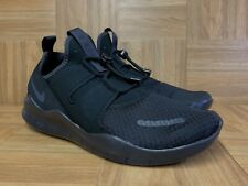 RARE🔥 Nike Free Run Commuter Blackout Black Slip On Sz 11.5 AA1620-002 Men's