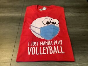 """Graphic T-Shirt Pandemic Volleyball"""" Fruit of the Loom 2XL"""