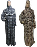 2in1 Overall Dress and Hijab Prayer Salah Islam Muslim Overhead Jilbab Abaya