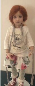 Helen Kish Chrysalis Lark Leap Doll Handpainted by Helen Kish - Mint in Box
