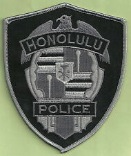 HONOLULU HAWAII POLICE TACTICAL PATCH