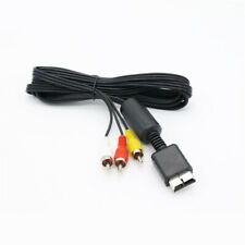 6FT/1.8M Audio Video AV Cable to RCA For SONY PlayStation PS1/PS2/PS3 SYSTEM