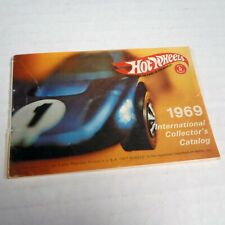 Vintage Original - 1969 Mattel HOT WHEELS International Collector's Catalog
