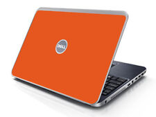 ORANGE Vinyl Lid Skin Cover Decal fits Dell Inspiron 15R N5010 Laptop