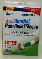 Coralite Menthol Pain Relief Medicated Sleeve For Wrist Small Ankles & Elbows
